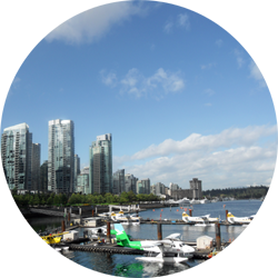 Vancouver british columbia canada city sea travel