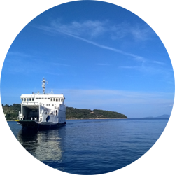 TRANSPORT dubrovnik lopud island croatia ferry europe travel