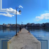 PIER waterfront thessaloniki peraia perea greece europe travel