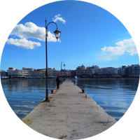 PIER waterfront thessaloniki peraia perea greece europe travel