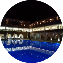 blue dolphin resort hotel sithonia halkidiki greece europe travel review