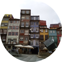 porto portugal travel budget riberia waterfront building architecture europe